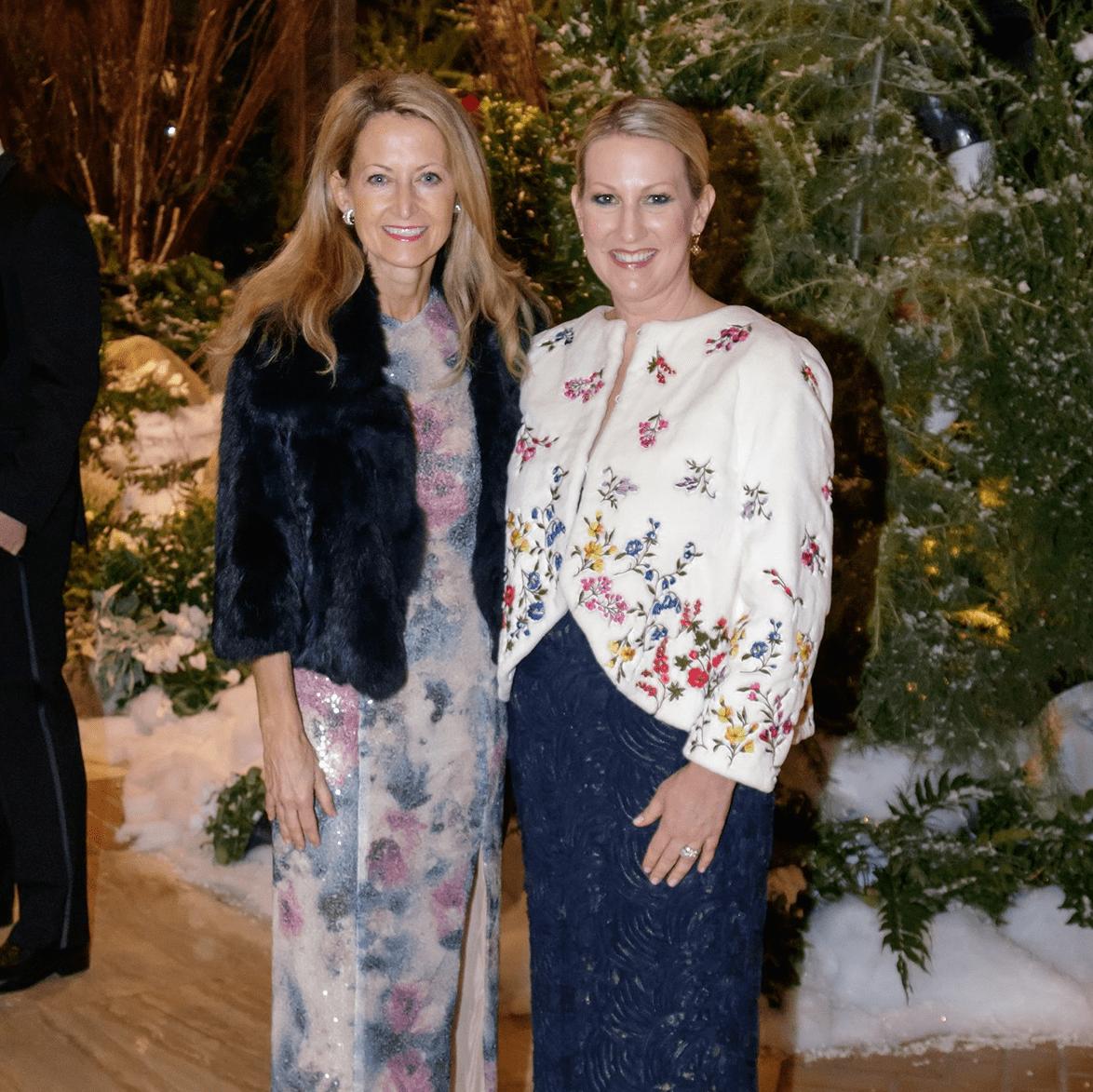 Lynn McBee, Lisa Singleton, Crystal Charity Ball 2017
