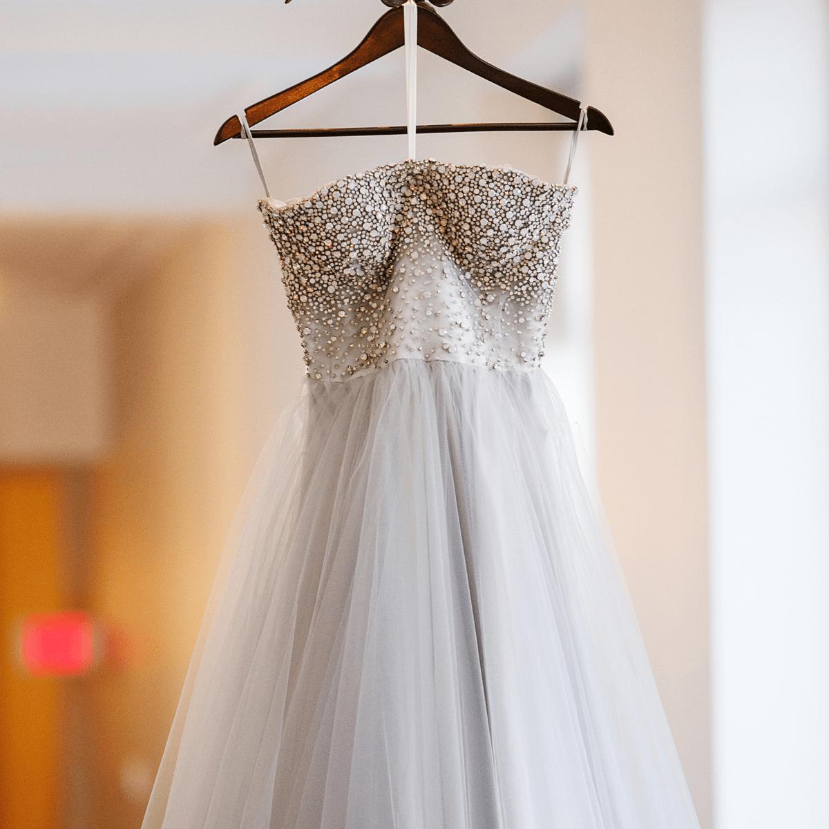 Womack Wedding, dress