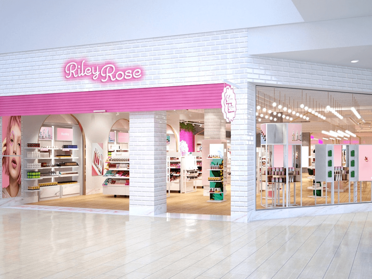Dallas, Riley Rose Beauty Store, Stonebriar