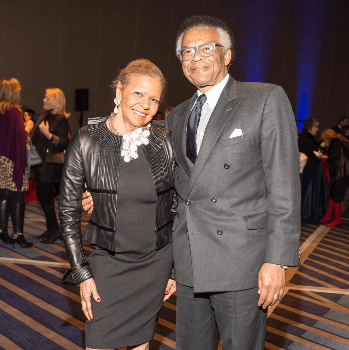 Houston, social book party, January 2018, Dr. Yvonne Cormier, Rufus Cormier