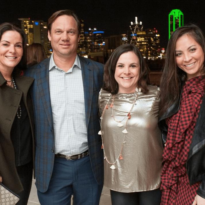 Paige Westhoff, Theron Bryant, Jennifer Burns, Samantha Wortley, Partners Card 2018