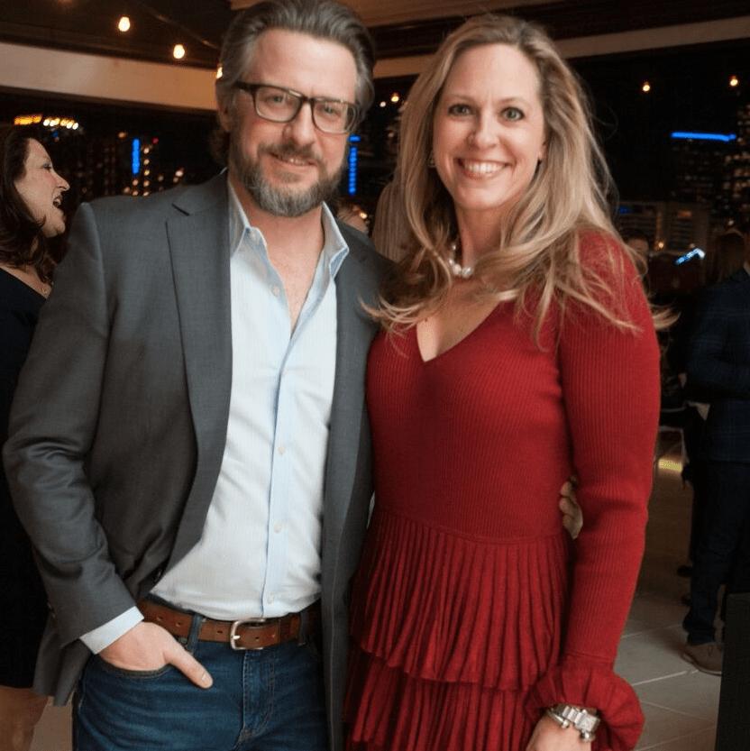 Brett Dougall, Brynn Bagot Allday, Partners Card 2018