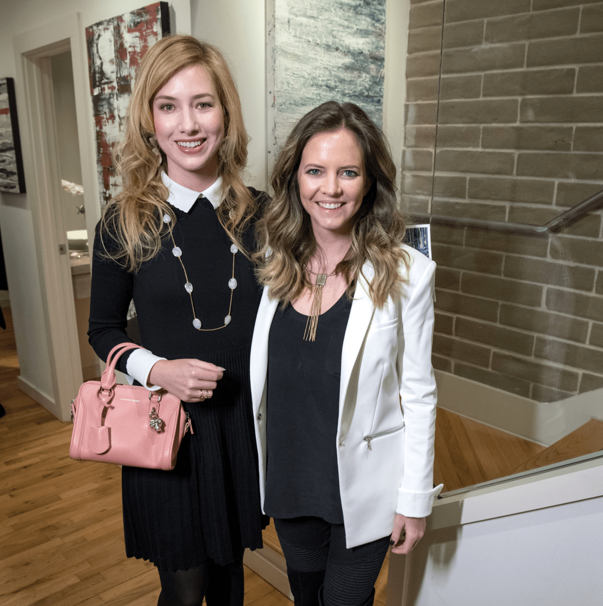 Dallas, LR Art House opening, January 2018, Kaleta Blaffer Johnson, Emma Miller