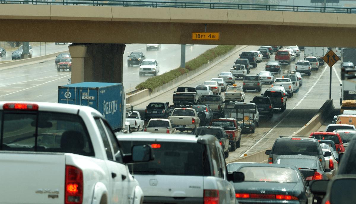 Dallas, Interstate 75, traffic, traffic jam, congestion