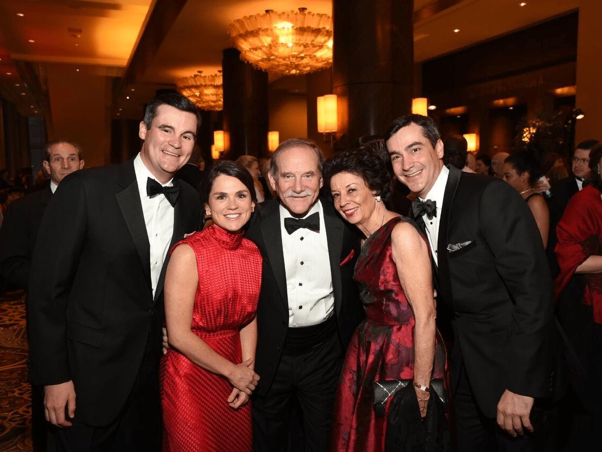 Houston, Heart Ball, February 2018, Matthew Goossen, Lacey Goossen, Marty Goossen, Kathy Goossen, Jay Goossen