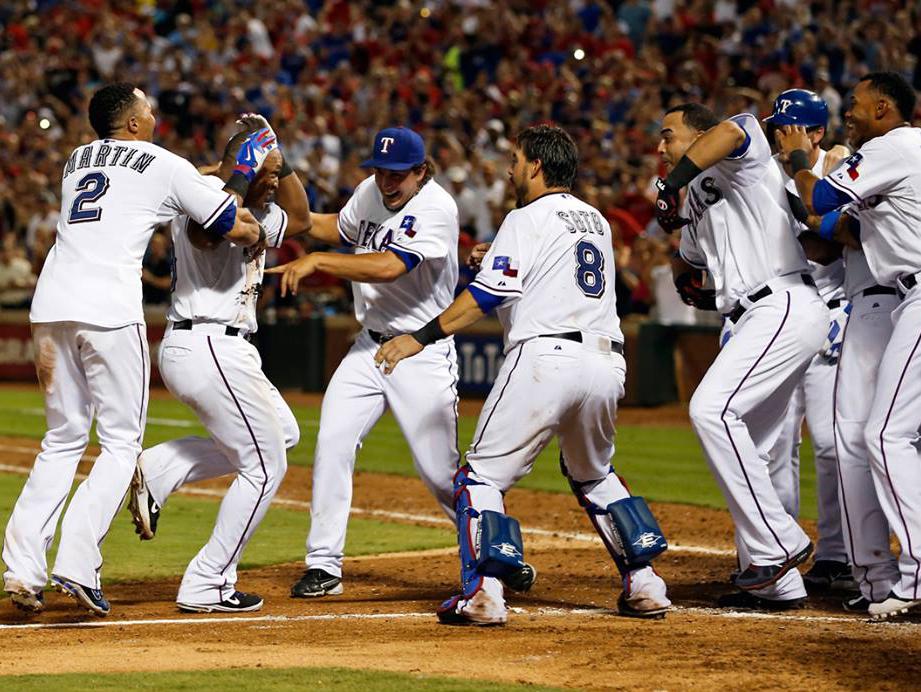 Texas Rangers Walkoff
