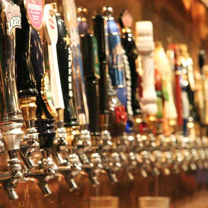 News_pub crawl_beer taps_beer