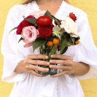 Oh! Fox Margot Blair Bouquet Morning Robe Gift Set