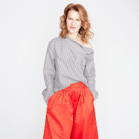 Sandra Bernhard in J,Crew fall 2017 collection
