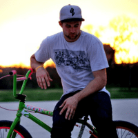 Aaron Ross BMX bike