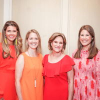 MS On The Move Luncheon, Catie Ross, Emily Covey, Marilyn Jaggard, Ashley Cruse