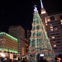 Dallas City Lights Christmas tree
