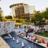 """2014 Spring & Fall Series of """"Live at Night"""" at Waterway Square"""