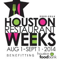 Houston Restaurant Weeks 2014