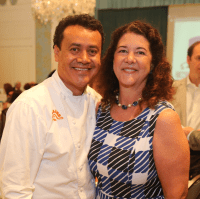 San Francisco Nativity Academy Luncheon, 6/16, Hugo Ortega, Tracy Vaught