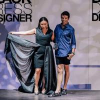 Lily Jang, Alan Gonzalez at Little Black Dress Designer 2017