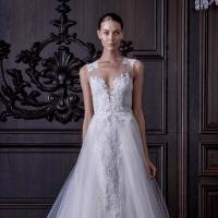L'Amour wedding dress Monique Lhuillier