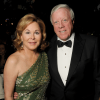 Discovery Green, Gala on the Green, Feb. 2016, Nancy Kinder, Rich Kinder