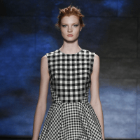 Lela Rose fall 2015 collection look 1
