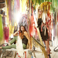 The Color Condition artists Marianne Newsom and Sunny Sliger