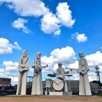 Houston, David Adickes, The Beatles at 8th Wonder Brewery