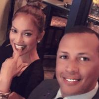 Jennifer Lopez, Alex Rodriguez World Series Houston