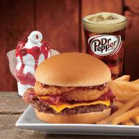 Houston, Dairy Queen Western BBQ Bacon Cheeseburger, November 2017