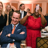 Houston, Touchdown for Teach with Peyton Manning, Peyton Manning