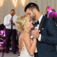 Neely wedding, bride + groom