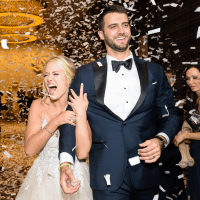 Neely wedding, confetti
