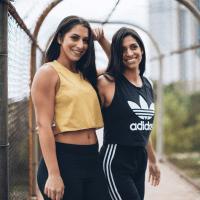 Karinn Chavarria and Cori Scherer Find Your Sweat
