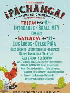 Pachanga Latino Music Festival May 2013