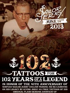 Sailor Jerry Day at Austin Tattoo Company