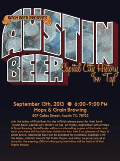 Bitch Beer Austin Beer book release party