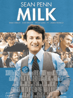 Poster for Gus Van Sant's Milk starring Sean Penn