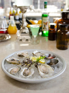 driftwood, oysters, absinthe