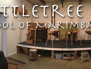 Rattletree community marimba jam and potluck flyer