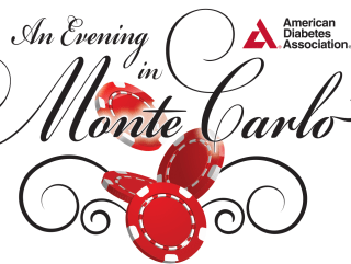 An Evening in Monte Carlo logo for American Diabetes Association