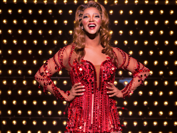 Kinky Boots Broadway 2015 J. Harrison Ghee as Lola