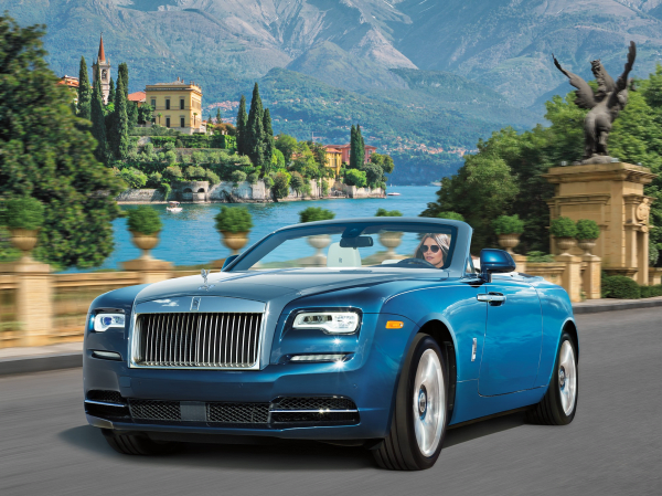 Rolls Royce Dawn blue, NM Fantasy Gifts 2017