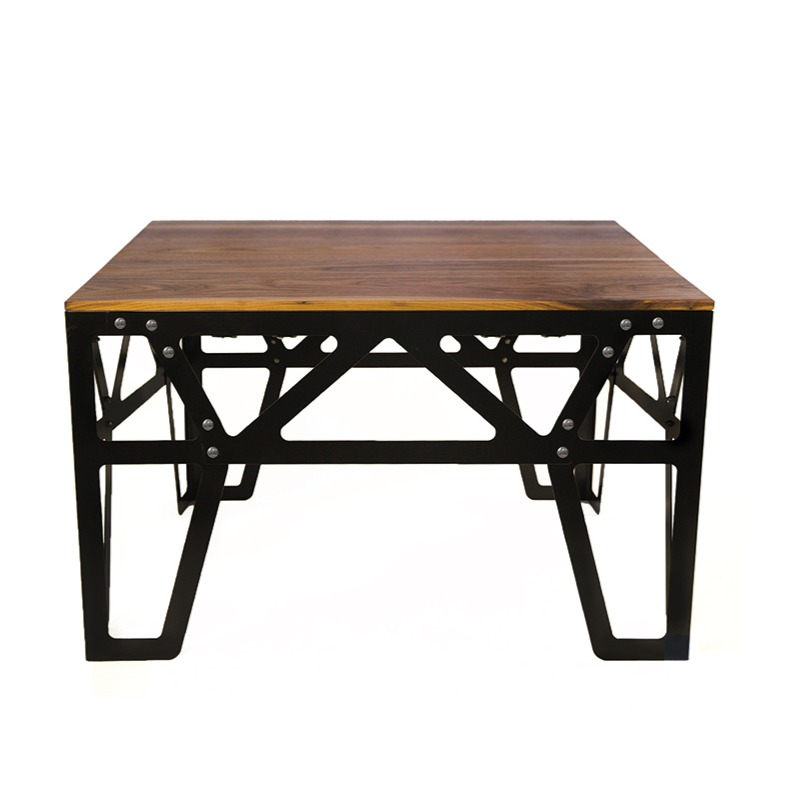 Couch M8 - Couchtisch, Schwarz + Holz   Two Bold Design