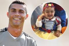 Криштиану Роналду и Джорджина Родригес отпраздновали первый день рождения дочери