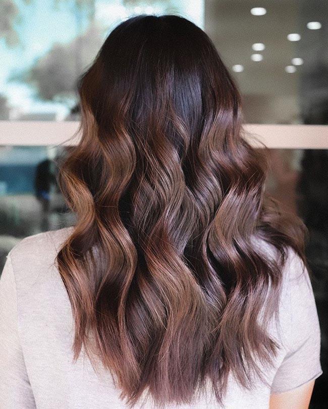 Окрашивание волос балаяж на средние волосы