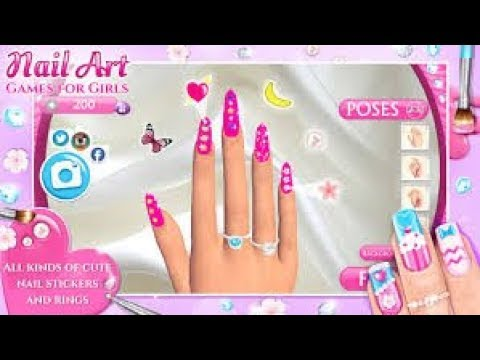 Free nails games for girls with spa