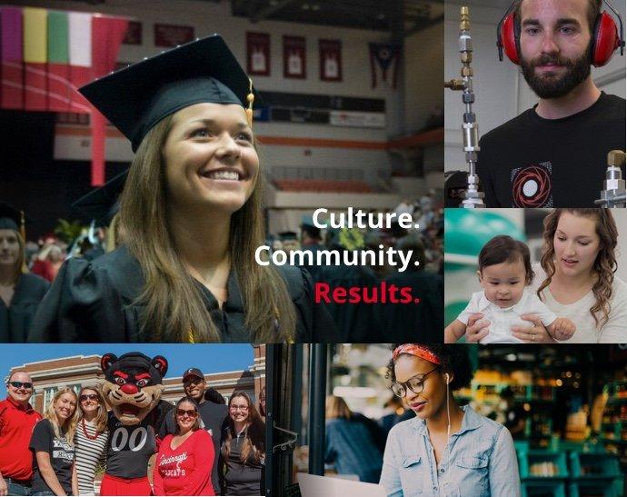 collage of University of Cincinnati students