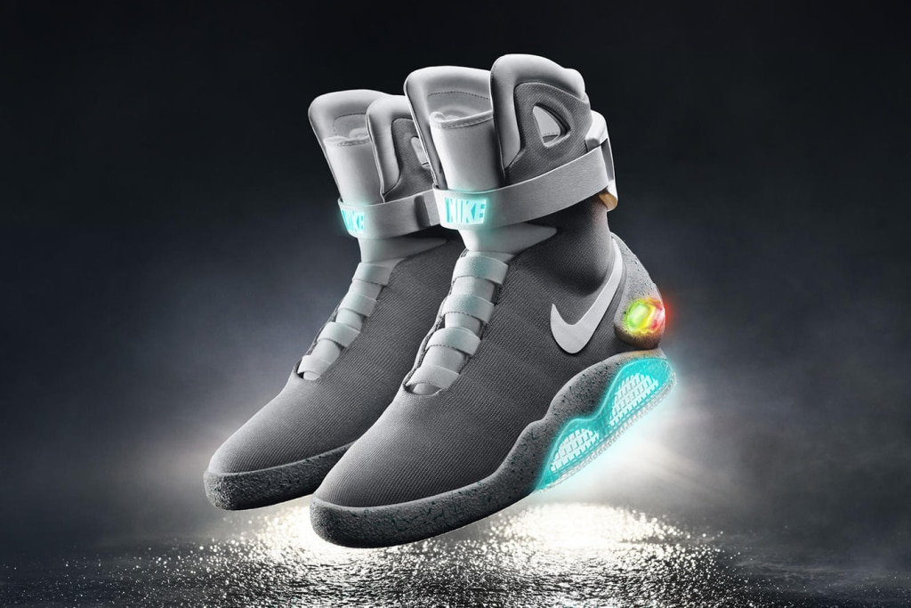 Kanye west back to the future shoes