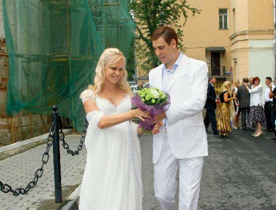Свадьба Дмитрия Дюжева и Татьяны Зайцевой