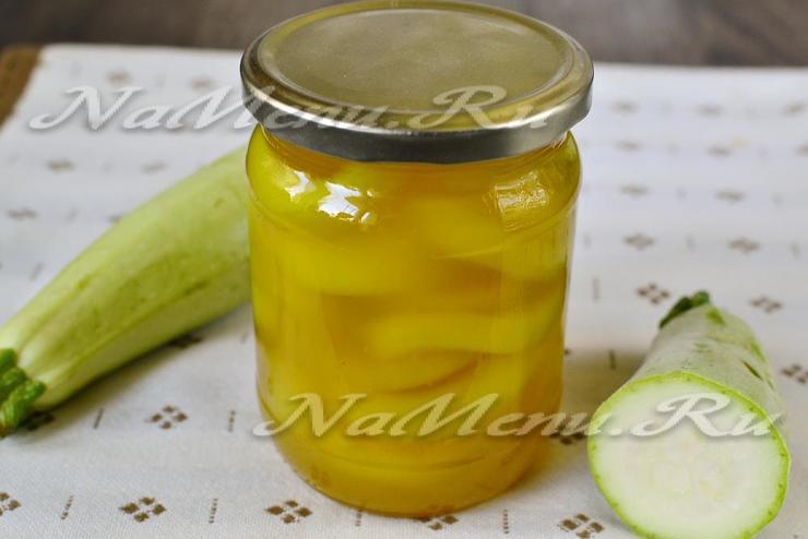 Кабачки ананасы рецепт