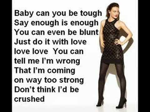 Hilary duff with love lyric