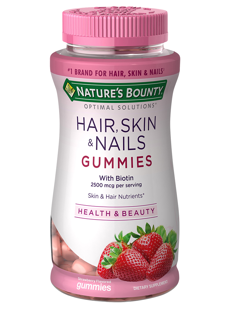 Nature bounty vitamins for hair skin and nails